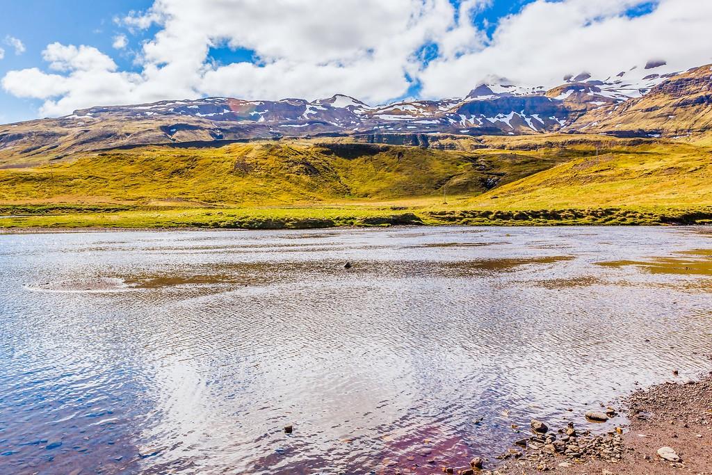 冰岛Kirkjufellsfoss,雪山瀑布_图1-7