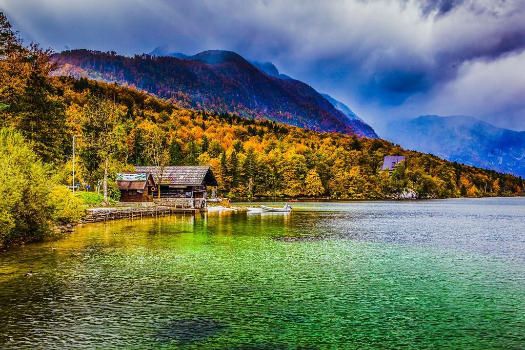 斯洛文尼亚博希尼湖(Lake Bohinj),美景如画_图1-23