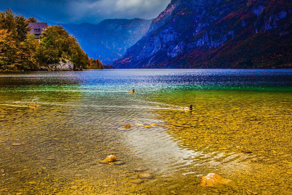 斯洛文尼亚博希尼湖(Lake Bohinj),美景如画_图1-17