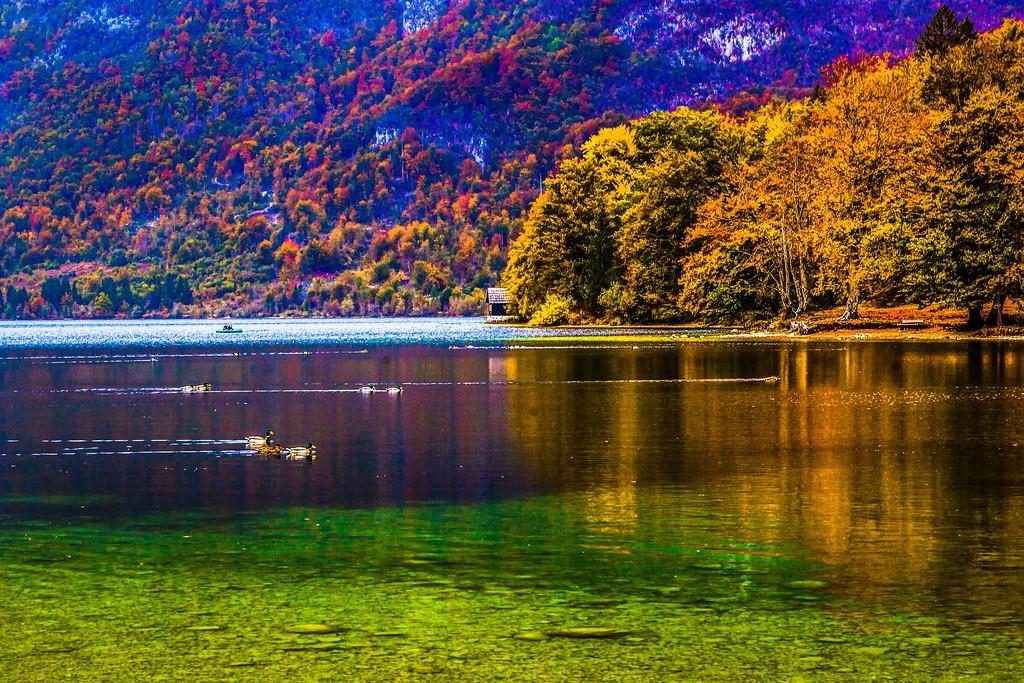 斯洛文尼亚博希尼湖(Lake Bohinj),美景如画_图1-2