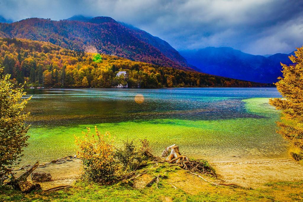 斯洛文尼亚博希尼湖(Lake Bohinj),美景如画_图1-8