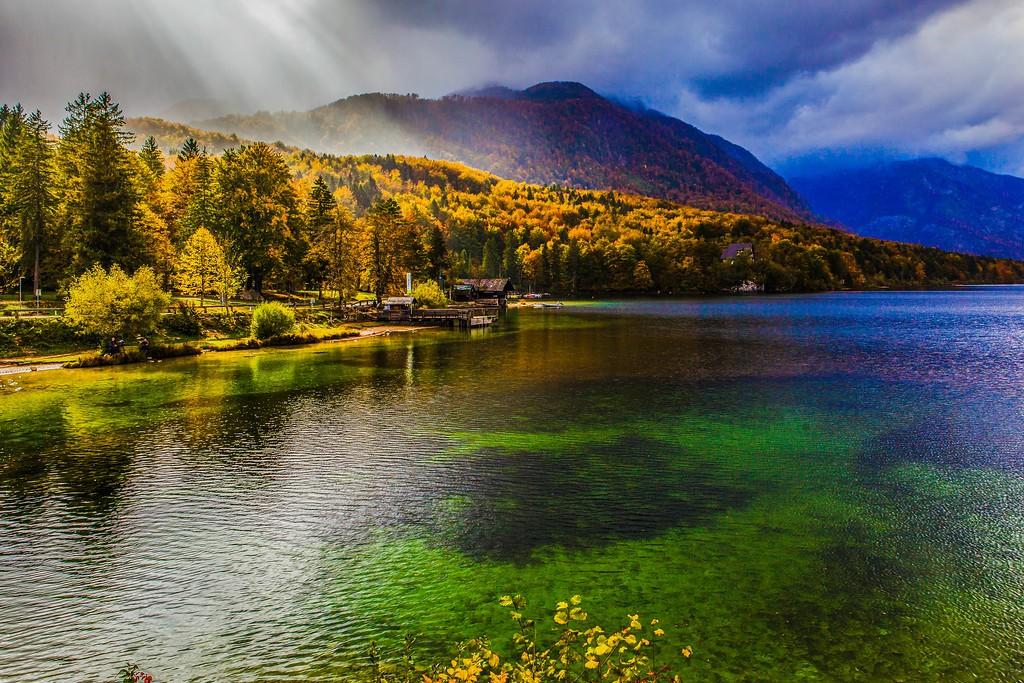 斯洛文尼亚博希尼湖(Lake Bohinj),美景如画_图1-9