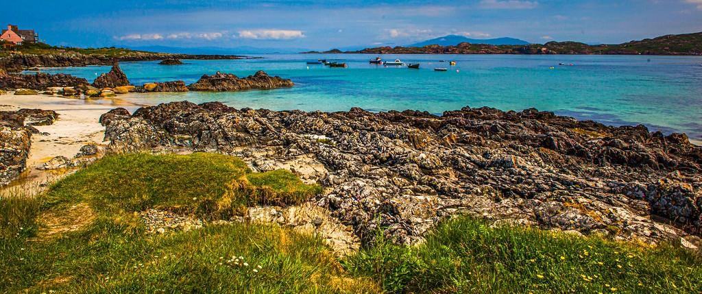 苏格兰美景,礁石海景_图1-3