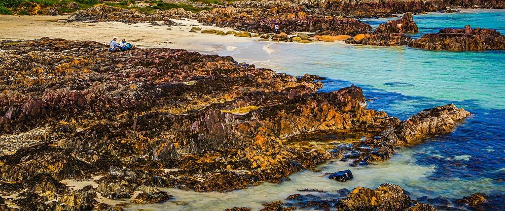 苏格兰美景,礁石海景_图1-5