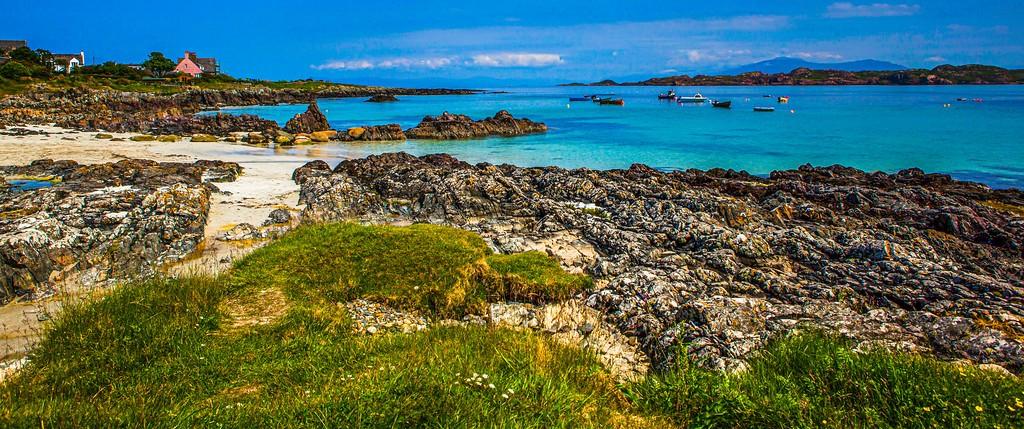 苏格兰美景,礁石海景_图1-7