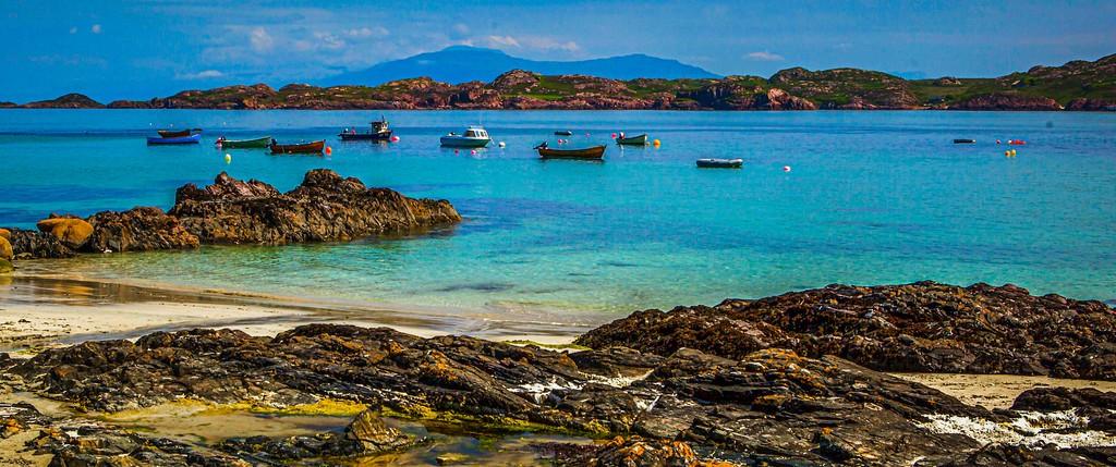 苏格兰美景,礁石海景_图1-4