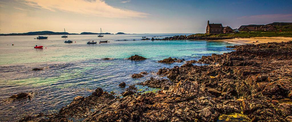 苏格兰美景,礁石海景_图1-12