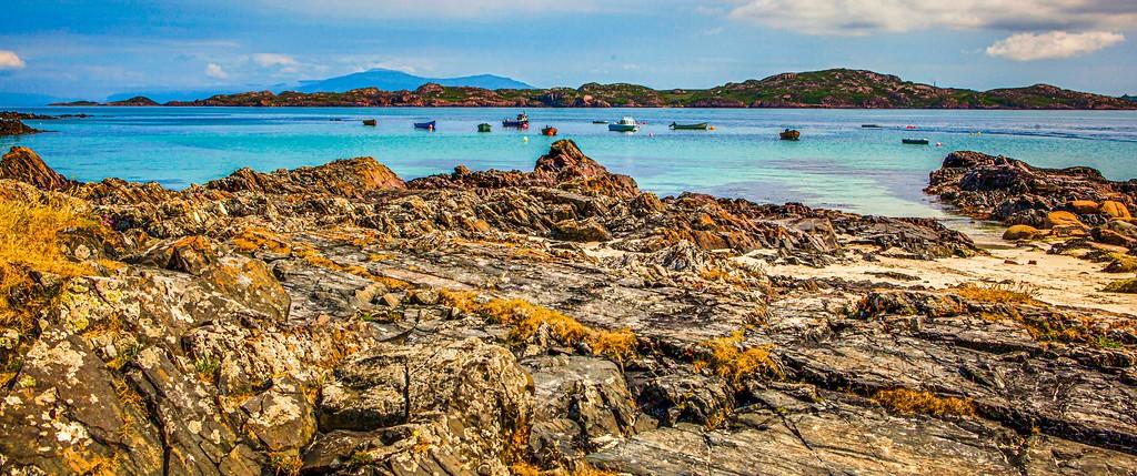苏格兰美景,礁石海景_图1-8