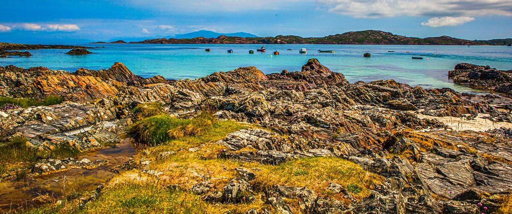 苏格兰美景,礁石海景_图1-14