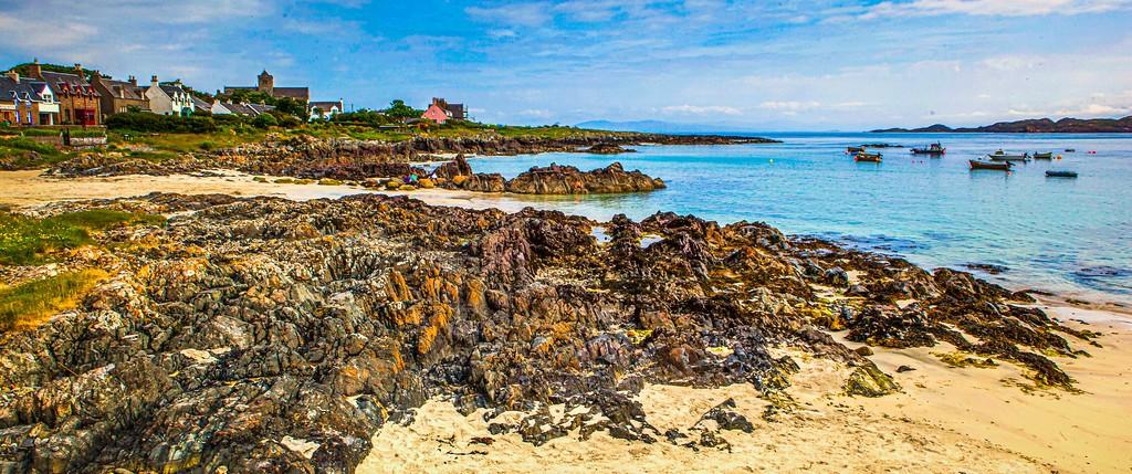 苏格兰美景,礁石海景_图1-23