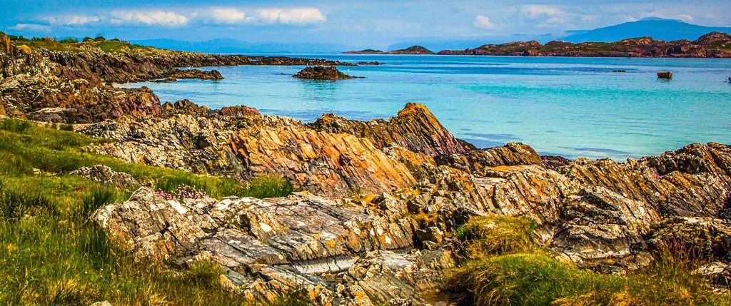 苏格兰美景,礁石海景_图1-38