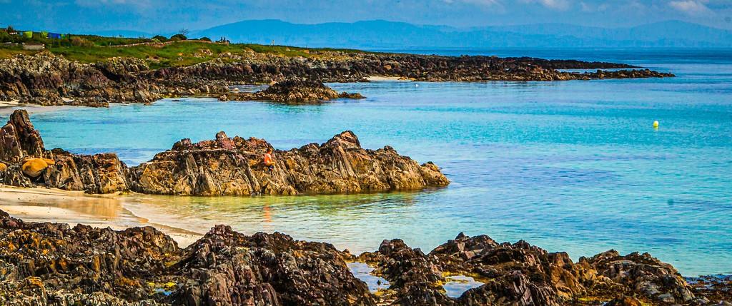 苏格兰美景,礁石海景_图1-30