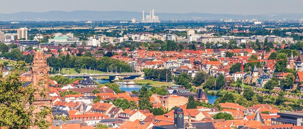 德国曼海姆(Mannheim),小城漫步_图1-3