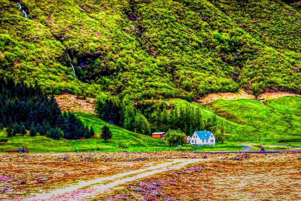 冰岛风采,大山彩裙_图1-39