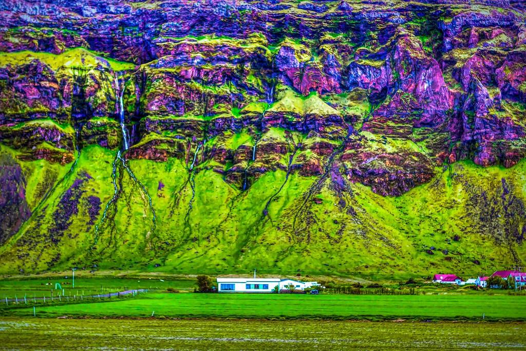 冰岛风采,大山彩裙_图1-37