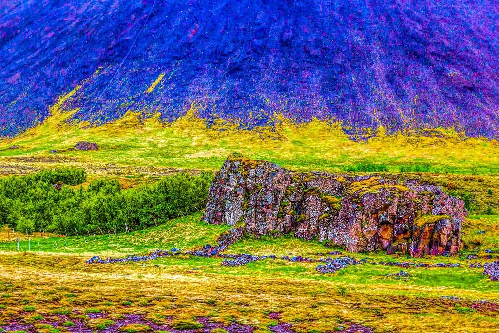 冰岛风采,大山彩裙_图1-36