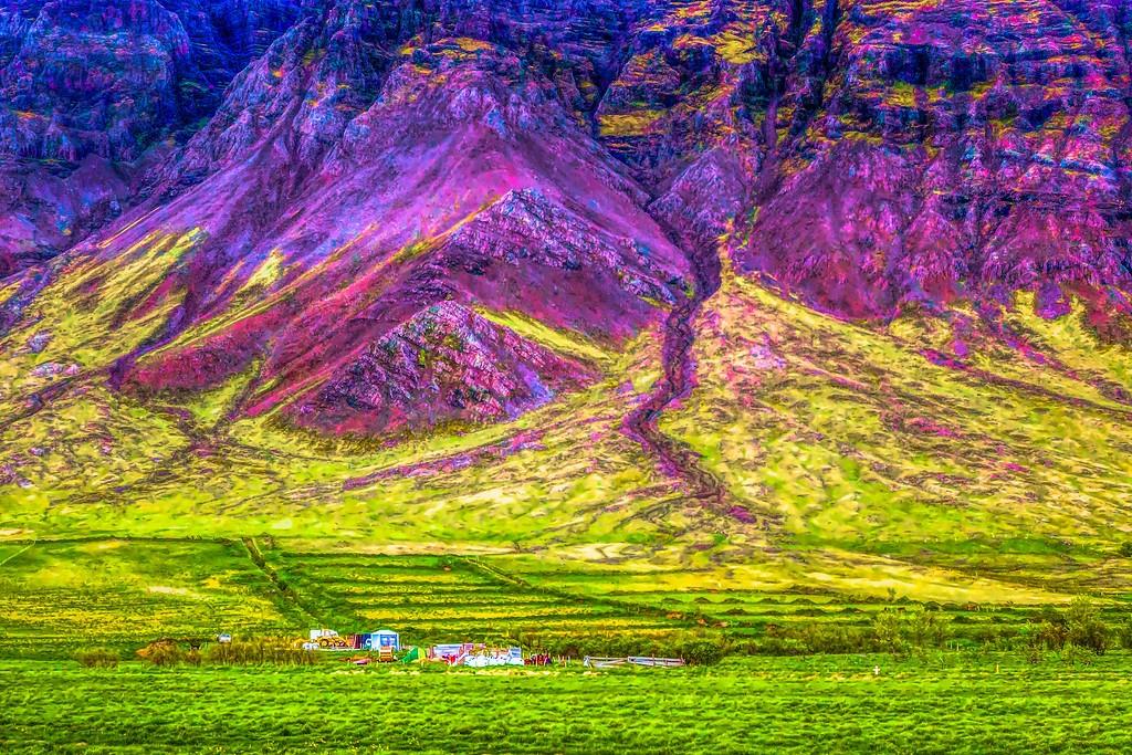 冰岛风采,大山彩裙_图1-29