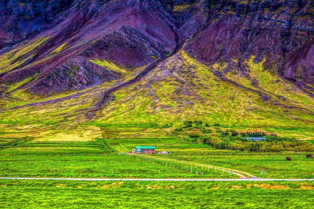 冰岛风采,大山彩裙_图1-33