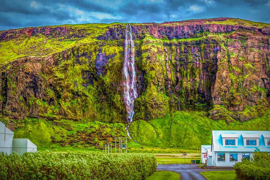 冰岛风采,大山彩裙_图1-30