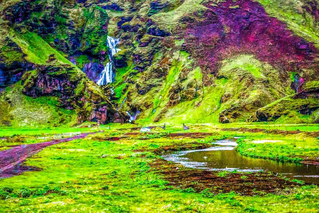 冰岛风采,大山彩裙_图1-28
