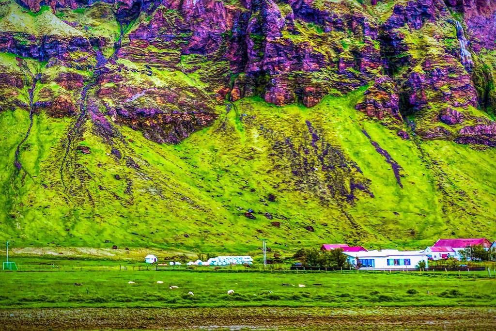 冰岛风采,大山彩裙_图1-27