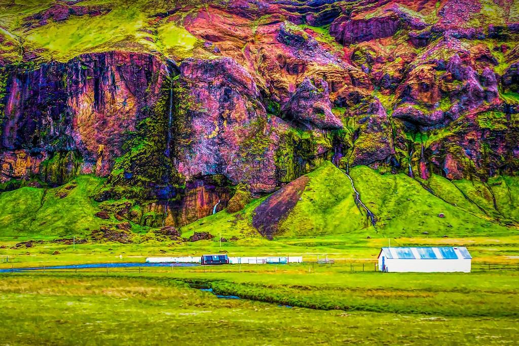 冰岛风采,大山彩裙_图1-25