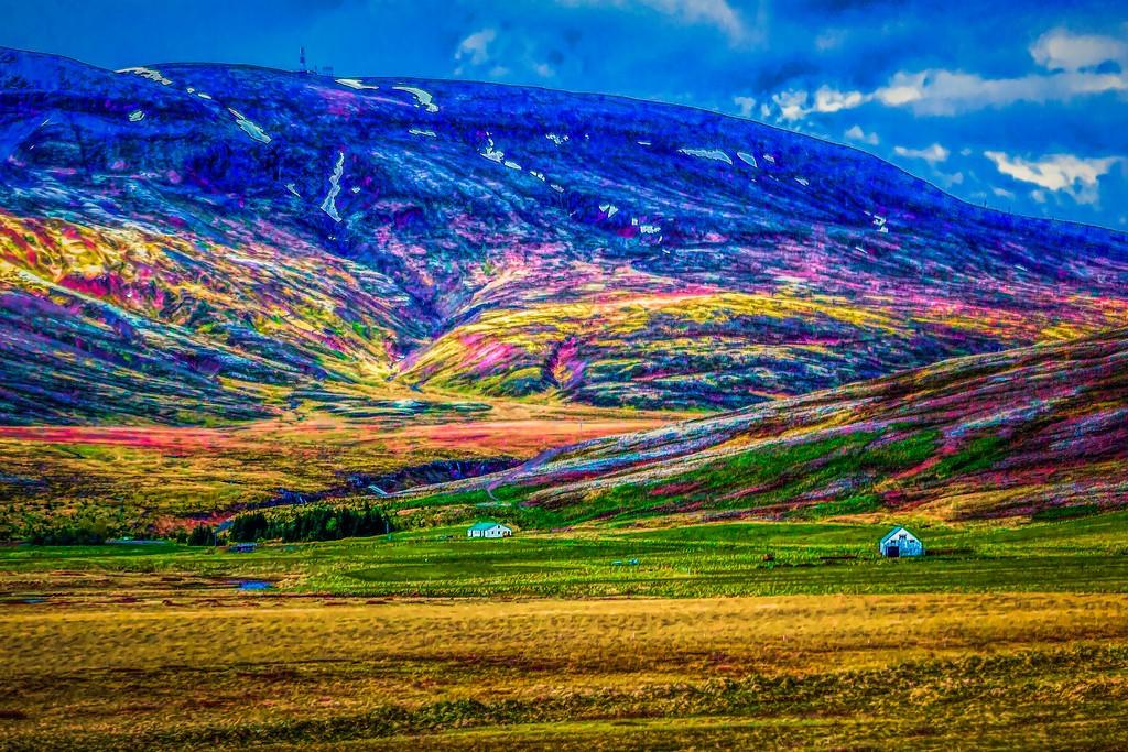 冰岛风采,大山彩裙_图1-22