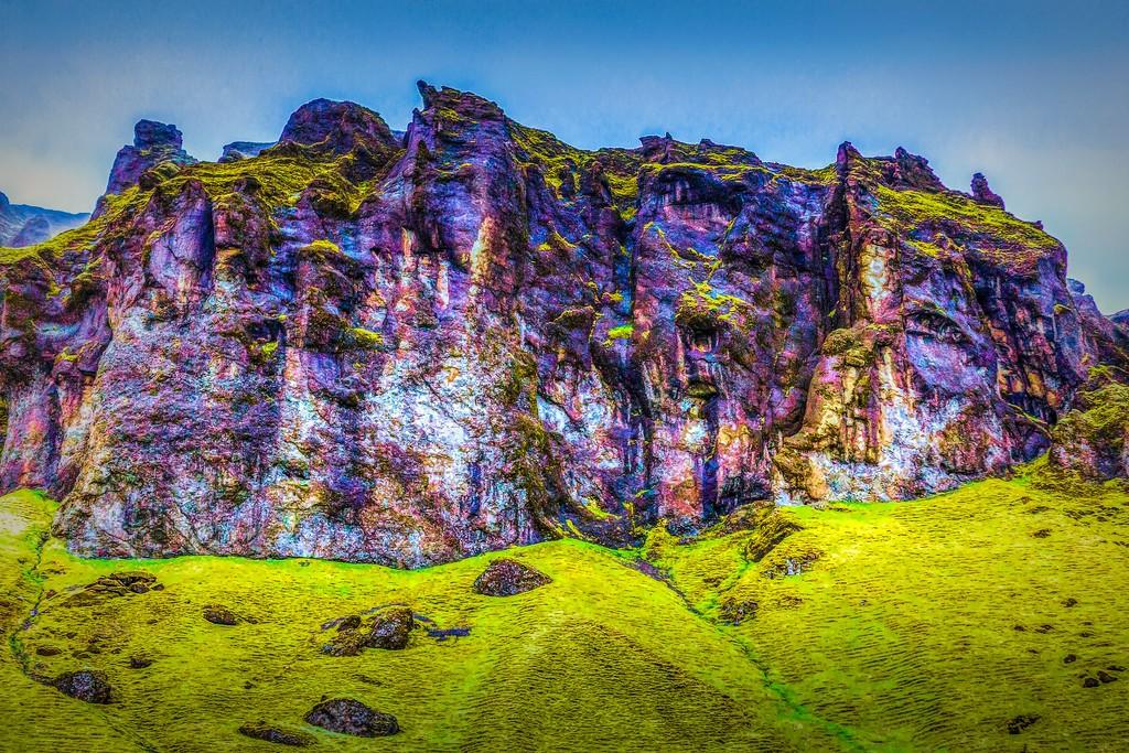 冰岛风采,大山彩裙_图1-20
