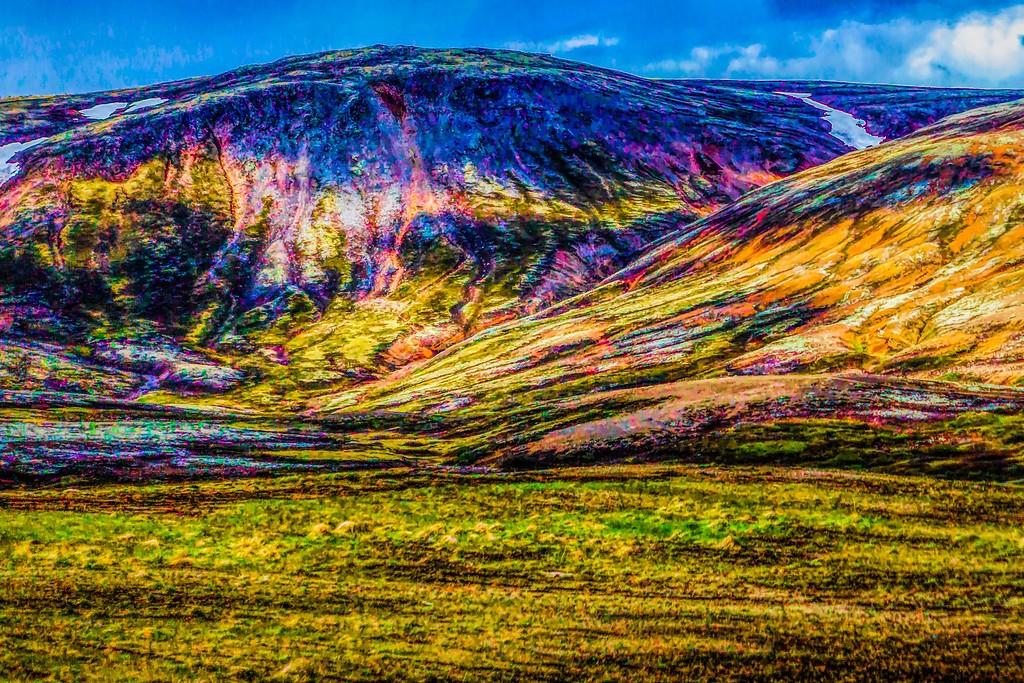 冰岛风采,大山彩裙_图1-17