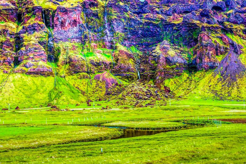 冰岛风采,大山彩裙_图1-15