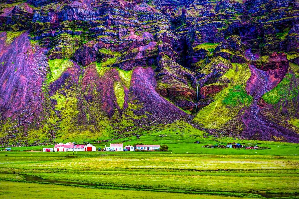 冰岛风采,大山彩裙_图1-16