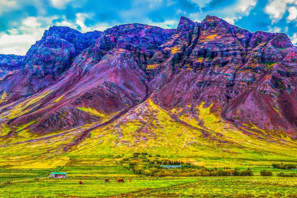 冰岛风采,大山彩裙_图1-18
