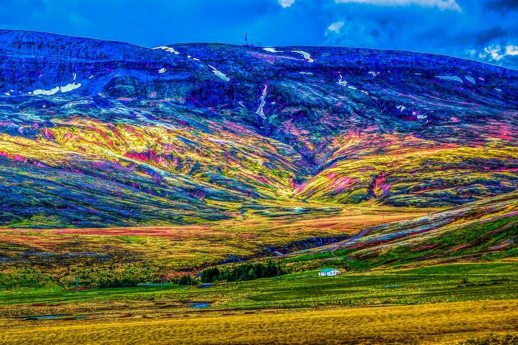 冰岛风采,大山彩裙_图1-12