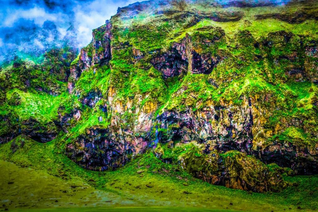 冰岛风采,大山彩裙_图1-11
