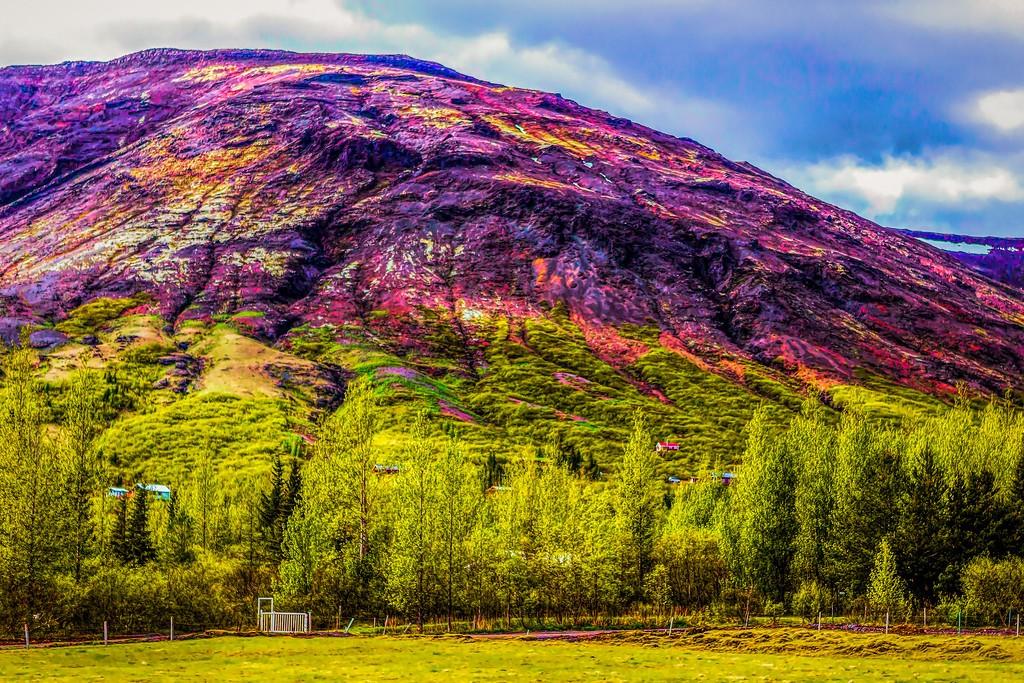 冰岛风采,大山彩裙_图1-9