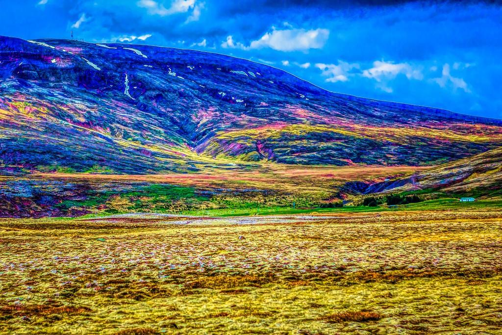 冰岛风采,大山彩裙_图1-7