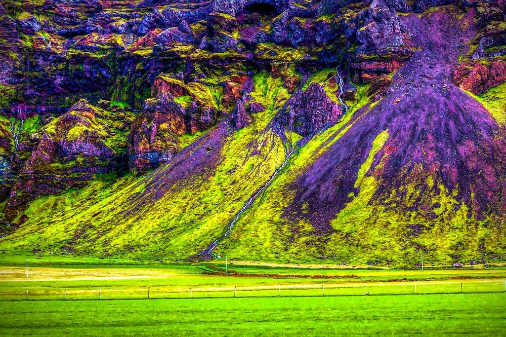 冰岛风采,大山彩裙_图1-5