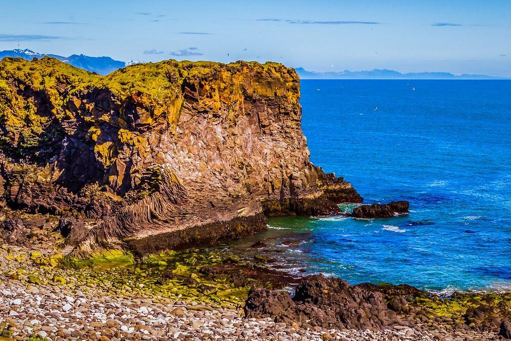 冰岛Arnarstapi,脚踏礁石_图1-11