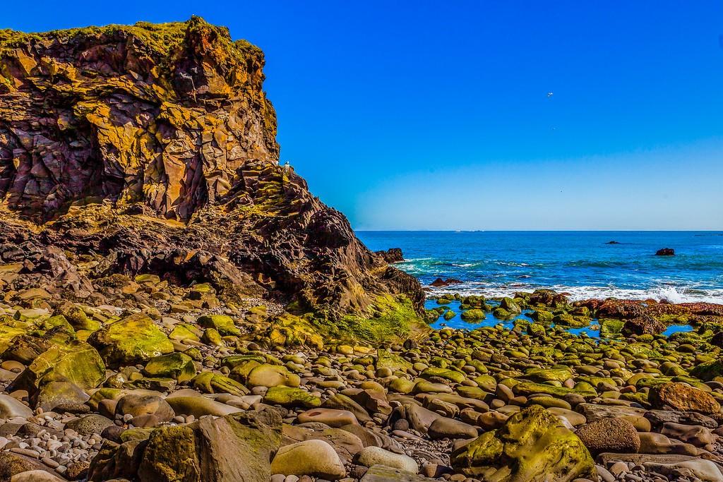冰岛Arnarstapi,脚踏礁石_图1-4