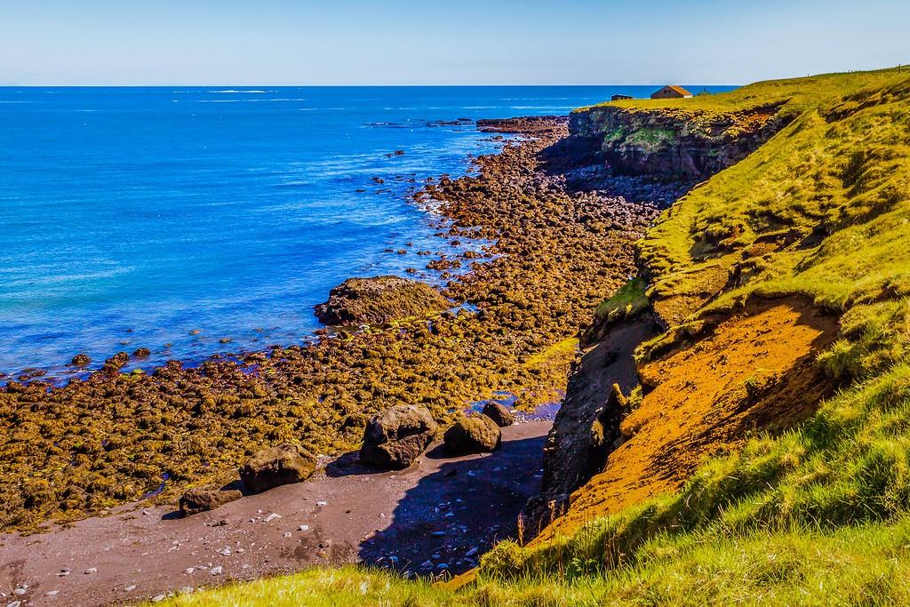 冰岛Arnarstapi,脚踏礁石_图1-14