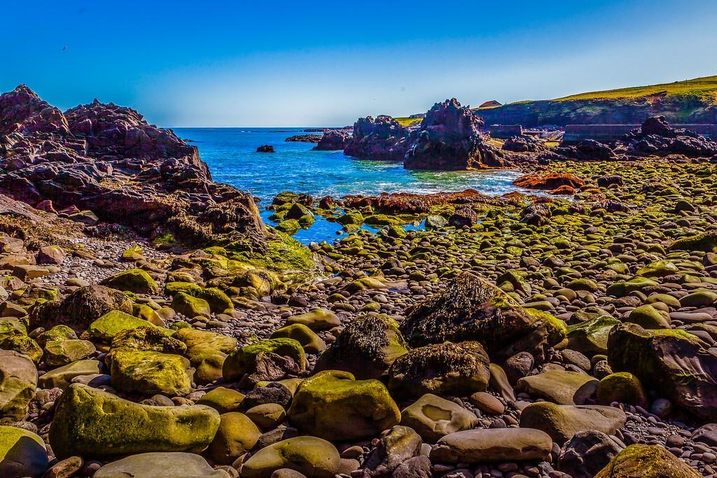 冰岛Arnarstapi,脚踏礁石_图1-26