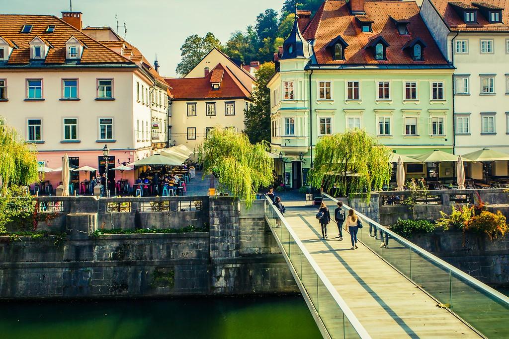 斯洛文尼亚首都卢布尔雅那(Ljubljana), 城市风貌_图1-28