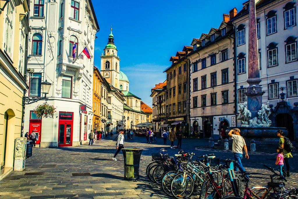 斯洛文尼亚首都卢布尔雅那(Ljubljana), 城市风貌_图1-22