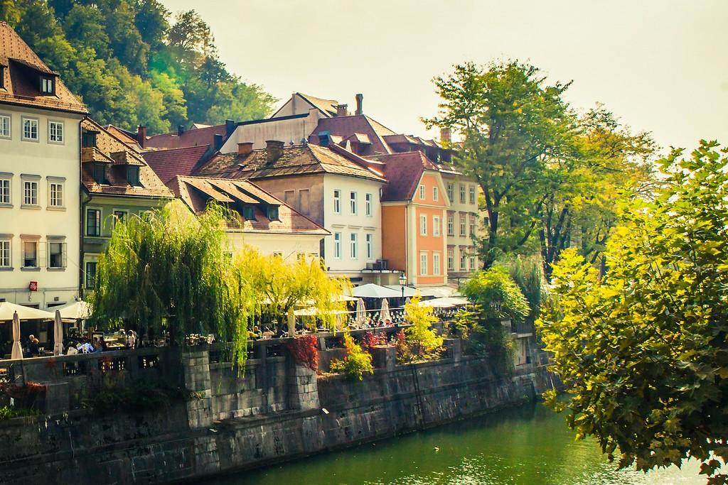 斯洛文尼亚首都卢布尔雅那(Ljubljana), 城市风貌_图1-21
