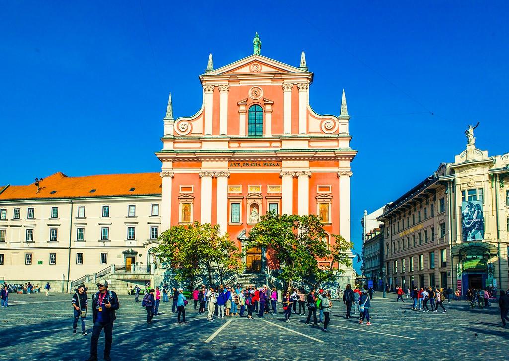 斯洛文尼亚首都卢布尔雅那(Ljubljana), 城市风貌_图1-23