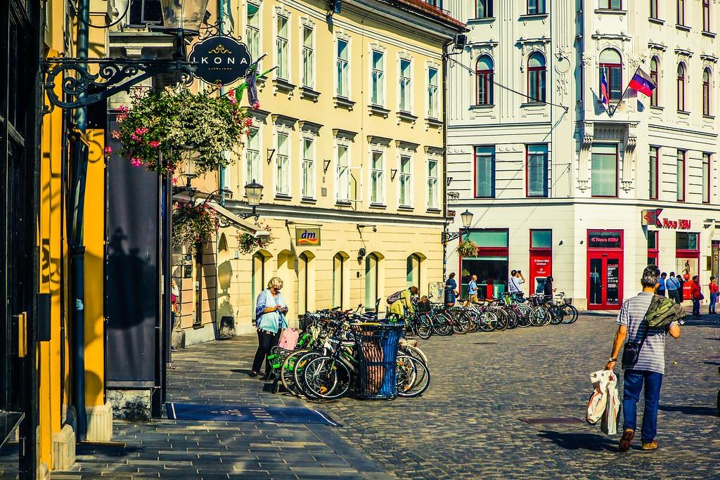 斯洛文尼亚首都卢布尔雅那(Ljubljana), 城市风貌_图1-24