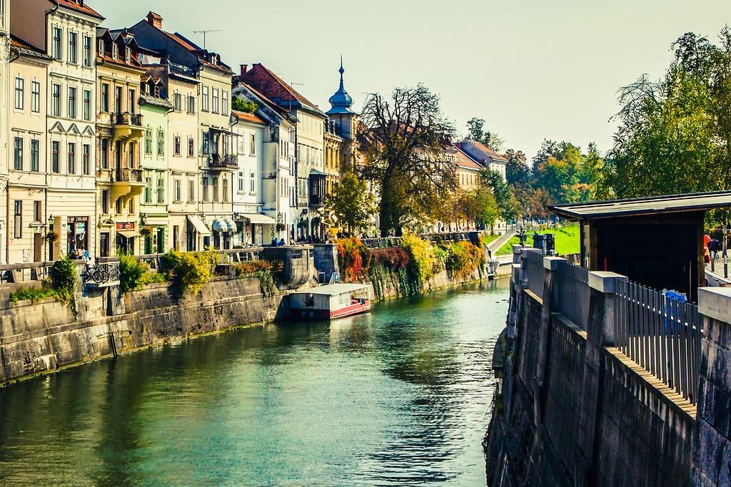 斯洛文尼亚首都卢布尔雅那(Ljubljana), 城市风貌_图1-20