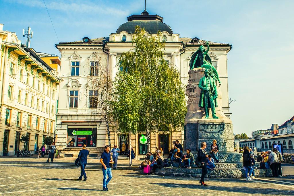 斯洛文尼亚首都卢布尔雅那(Ljubljana), 城市风貌_图1-19