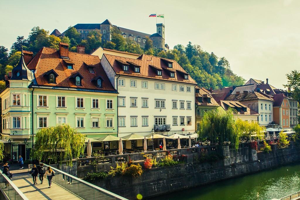 斯洛文尼亚首都卢布尔雅那(Ljubljana), 城市风貌_图1-18