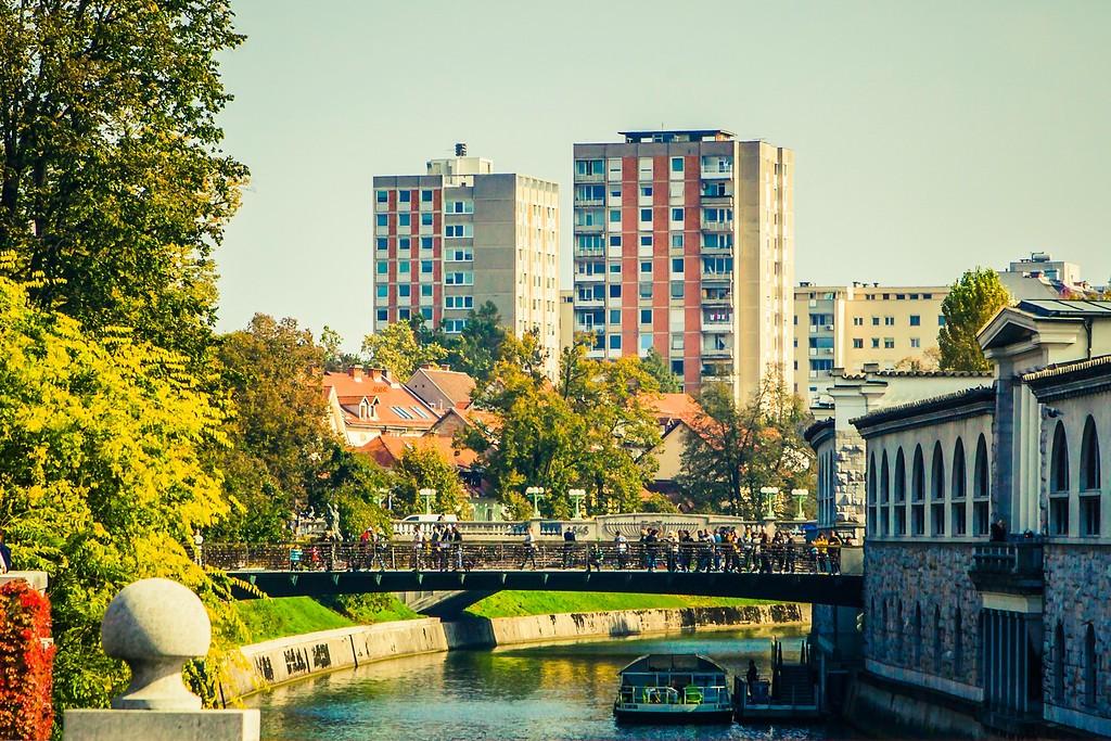 斯洛文尼亚首都卢布尔雅那(Ljubljana), 城市风貌_图1-17